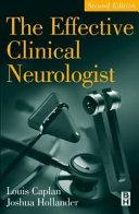 The Effective Clinical Neurologist