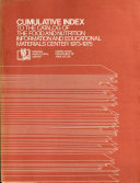 Cumulative Index to the Catalog of the Food and Nutrition Information and Educational Materials Center  1973 1975