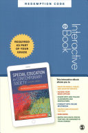 Special Education in Contemporary Society - Interactive EBook