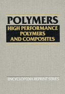 High Performance Polymers and Composites Book
