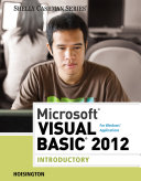 Microsoft Visual Basic 2012 for Windows Applications  Introductory