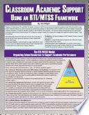 Classroom Academic Support Using An Rti Mtss Framework