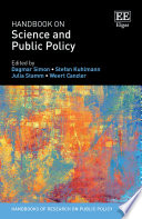 Handbook on Science and Public Policy