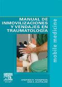 Pdf Manual de inmovilizaciones y vendajes en traumatología Telecharger