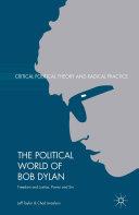 The Political World of Bob Dylan Pdf/ePub eBook