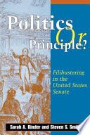 Politics or Principle  Book PDF