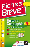 Fiches Brevet Histoire-Géographie Éducation civique 3e