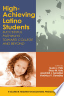 High Achieving Latino Students Book PDF