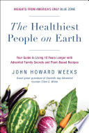 The Healthiest People on Earth Book