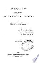 Regole per la pronunzia della lingua italiana