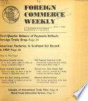 Foreign Commerce Weekly