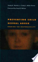 Preventing Child Sexual Abuse Book