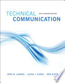 Technical Communications, Sixth Canadian Edition,