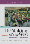 The Making of the West  Value Edition  Volume 2