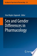 Sex and Gender Differences in Pharmacology Book