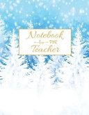 Notebook for Teacher