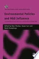 Environmental Policies and NGO Influence Book