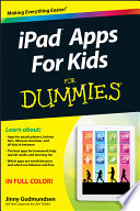 iPad Apps For Kids For Dummies Book