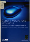 Current Awareness Abstracts
