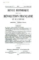 Revue historique de la Révolution française