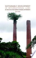 Sustainable Development In International Law
