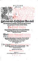 Epitome historiarum christlicher ausgelesener Historien ebook