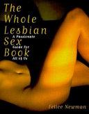 The Whole Lesbian Sex Book Book PDF