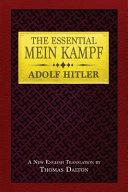 The Essential Mein Kampf Book PDF