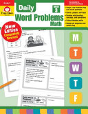 Daily Word Problems  Grade 3 Book