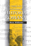 Lectiones De Historia Romana - Teachers Notes