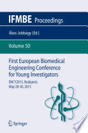 First European Biomedical Engineering Conference for Young Investigators Book