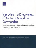 Improving the Effectiveness of Air Force Squadron Commanders