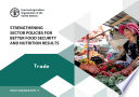 Strengthening sector policies for better food security and nutrition results  Book