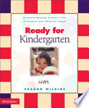 Ready for Kindergarten Book