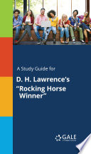 A Study Guide for D. H. Lawrence's