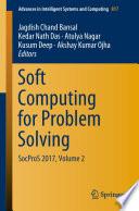 Soft Computing For Problem Solving