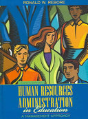 Human Resources Administration in Education Book