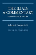 The Iliad  A Commentary