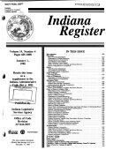 Indiana Register Book