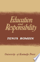 Education and Responsibility