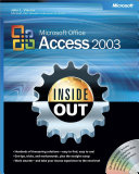 Microsoft Office Access 2003 Inside Out