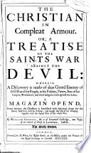 The Christian In Compleat Armour The Sixth Edition