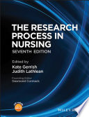 """The Research Process in Nursing"" by Kate Gerrish, Judith Lathlean, Desmond Cormack"