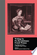 Writings by Pre Revolutionary French Women