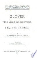 Gloves  Their Annals and Associations