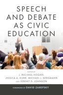 Speech and Debate as Civic Education Pdf/ePub eBook