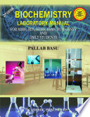 BIOCHEMISTRY LABORATORY MANUAL Book