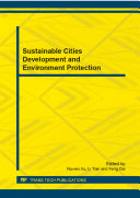 Sustainable Cities Development and Environment Protection