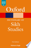 A Dictionary of Sikh Studies