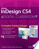 InDesign CS4 Digital Classroom